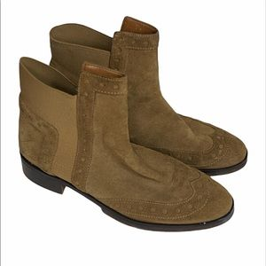 Zara Basic Collection sz 38 8 suede booties